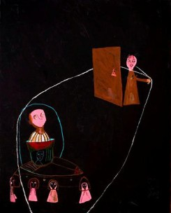 Acrylic on canvas. 160x130cms 2009